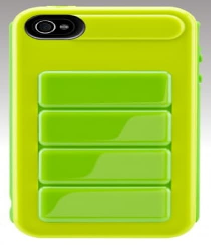 SwitchEasy Odyssey Lime UltraFrame Hardshell iPhone 4 Case
