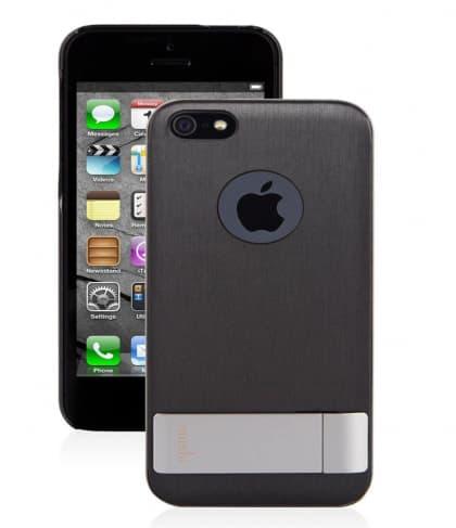 Moshi iGlaze Kameleon Stand Case for iPhone 5 5s Black