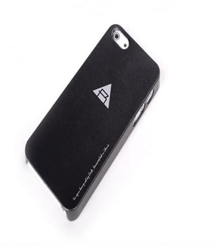 Rock Naked Shell Series Back Cover Snap Case for iPhone 5 5s SE - Black
