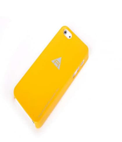 Rock Naked Shell Series Back Cover Snap Case for iPhone 5 5s SE - Orange