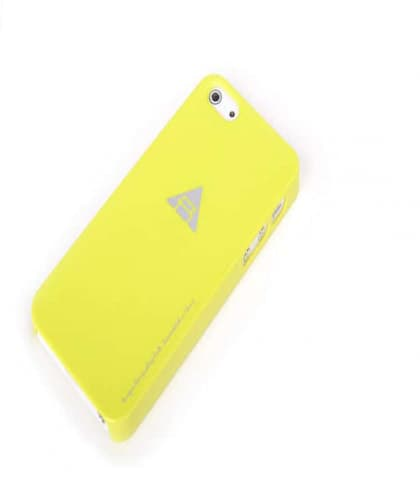 Rock Naked Shell Series Back Cover Snap Case for iPhone 5 5s SE - Yellow