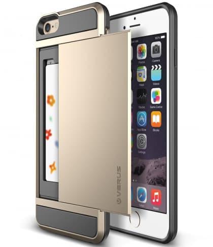 Verus iPhone 6 Plus Case Damda Slide Series Gold