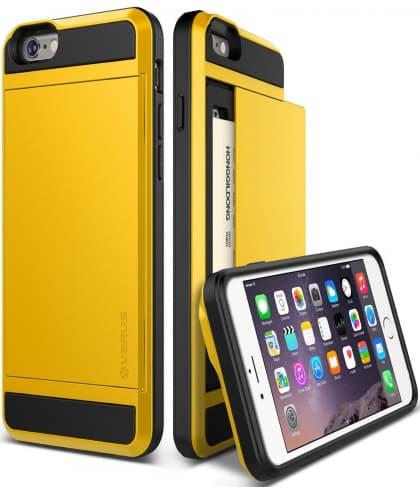 Verus iPhone 6 Plus Case Damda Slide Series Yellow