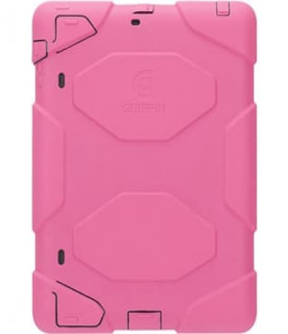 Griffin Technology Survivor Extreme-Duty Case with Stand for iPad 2 & new iPad (Pink)
