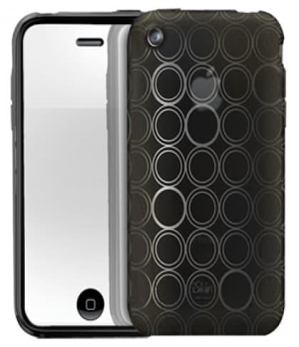 iSkin Solo FX Onyx Black Case iPhone 3G 3GS