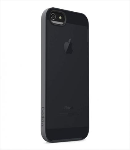 Belkin Grip Candy Sheer for iPhone 5 5s Smolder Blacktop