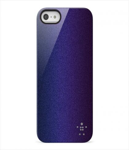 Belkin Shield Color Shift for iPhone 5 5s SE Blacktop Indigo