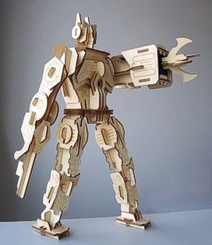 DIY Solar Kits Robot Warrior