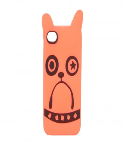 Marc Jacobs Pickles the Bulldog Highlighter Orange iPhone 4 4S Case