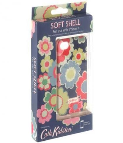 Cath Kidston Electric Flowers iPhone 4 / 4S Case