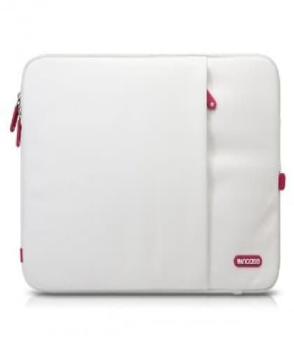 """Incase 15"""" White Cranberry Protective Sleeve Deluxe for MacBook Pro"""