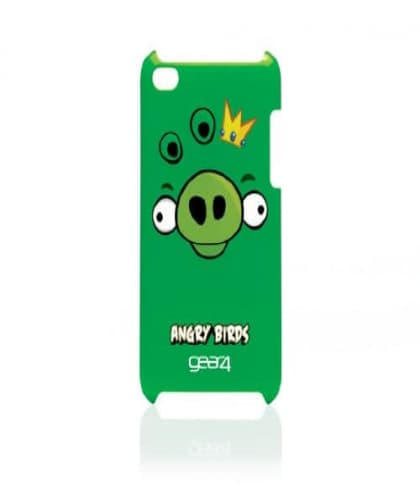 Angry Birds Case for iPod Touch 4th Gen - Pig King Green