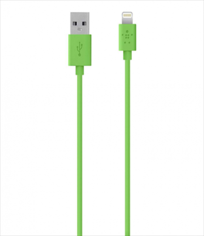 Belkin MIXIT Lightning to USB ChargeSync Cable 4 feet Green