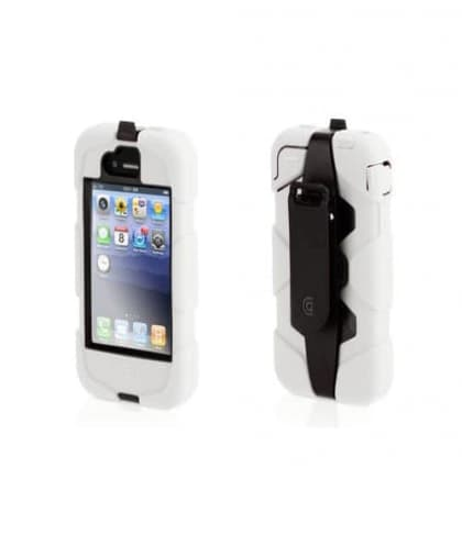 Griffin Survivor Case for iPhone 4 and iPhone 4S (White / Black)