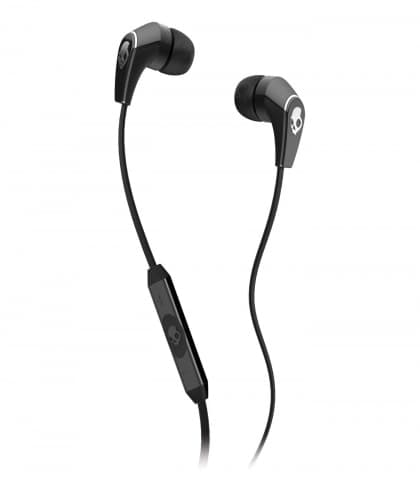 Skullcandy 50/50 In-Ear Headphones Black / Chrome with Mic