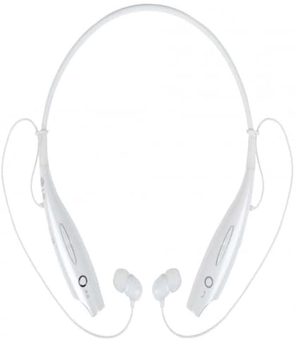 LG HBS730 TONE+ Wireless Stereo Bluetooth Headset White