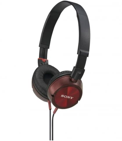 Sony MDR ZX300 Headphones Red