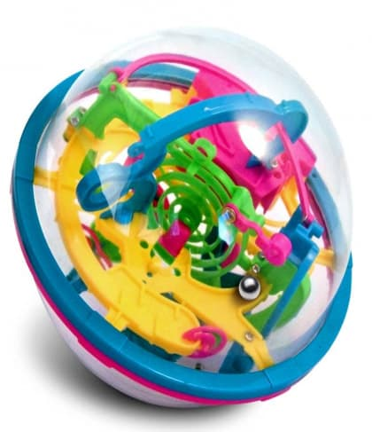 Addictaball Maze 1 – 19  cm diameter ball 138 stages