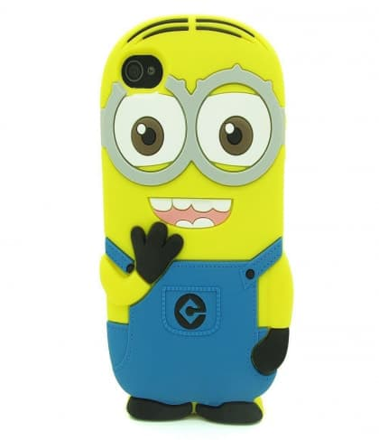 3D Two Eyes Minion Despicable Me Case for iPhone 5C
