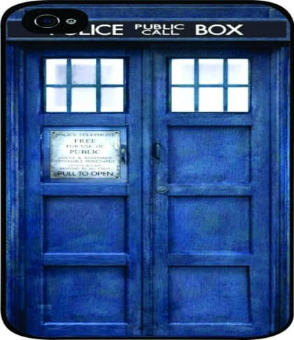 Tardis Doctor Who Police Box Time Machine iPhone 5C Case