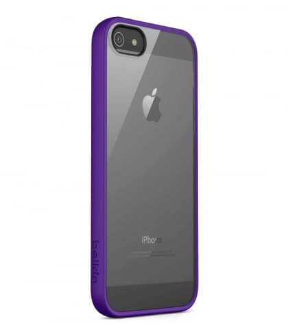 Belkin View Case for iPhone 5 iPhone 5s Clear Violet