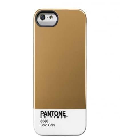 iPhone 5 Pantone Universe case by Case Scenario Gold Coin