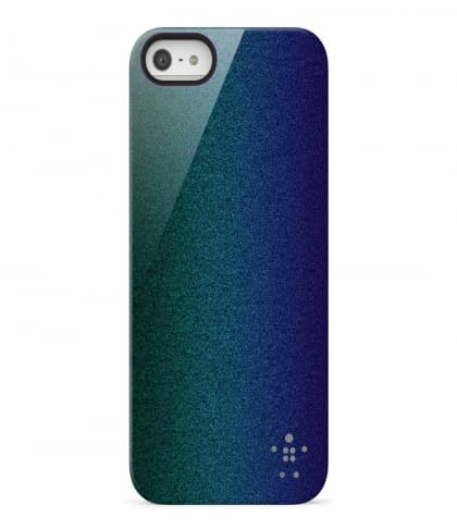 Belkin Shield Color Shift for iPhone 5 5s SE Blacktop Peacock