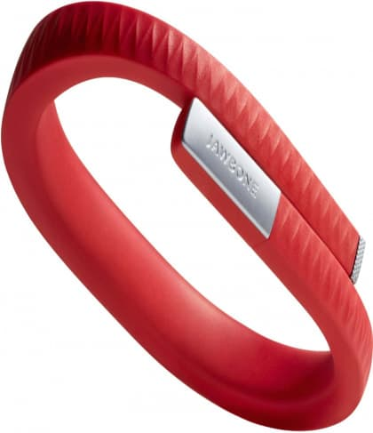 Red Jawbone Up Activity Tracking Wristband