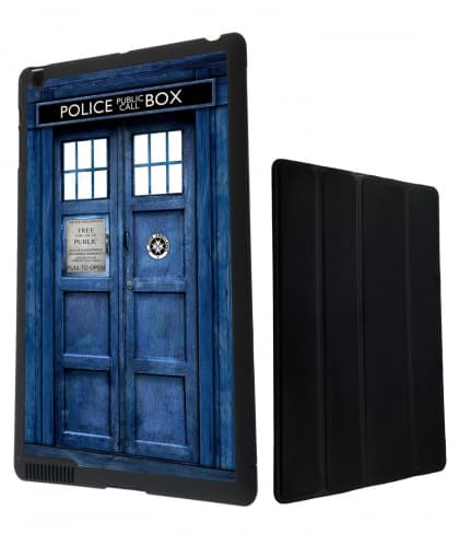 Tardis Doctor Who Police Box Time Machine iPad Mini Snap Case