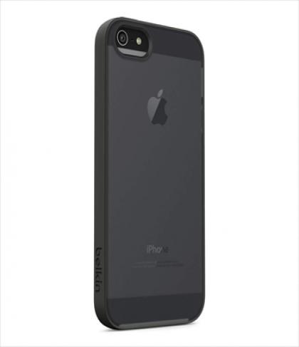 Belkin Grip Candy Sheer for iPhone 5 5s Blacktop Gravel