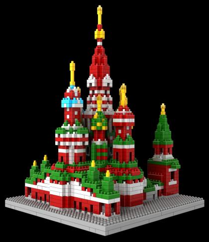Loz Nano Block Architecture Series Cathedral