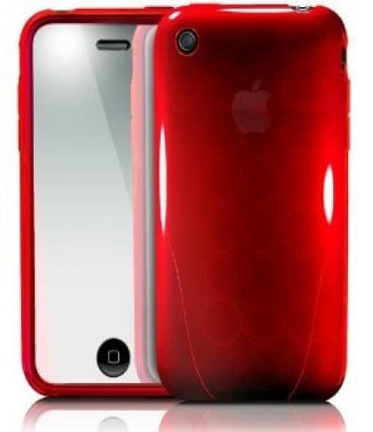 iSkin Solo FX Passion Red Case iPhone 3G 3GS