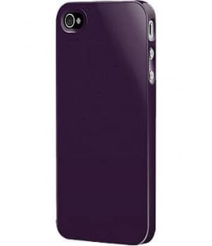 SwitchEasy Purple Nude Plastic Case for iPhone 4