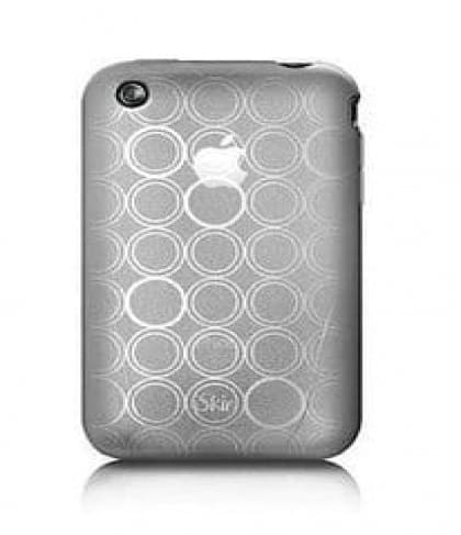 iSkin Solo FX SE Ice Clear White Frosted Case iPhone 3G 3GS