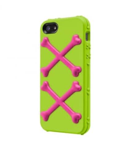 Switcheasy Bones Toxic Lime for iPhone 5
