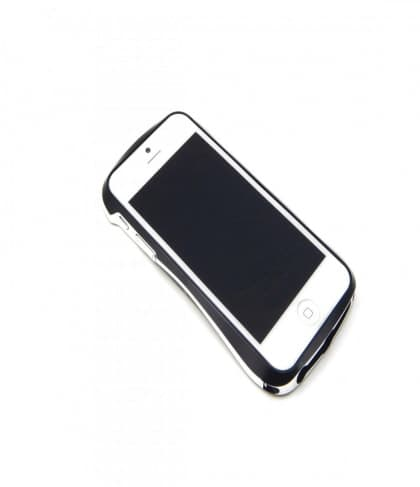 Draco 5 Deff Cleave Japan Aluminum Bumper for iPhone 5 (Metro Black)