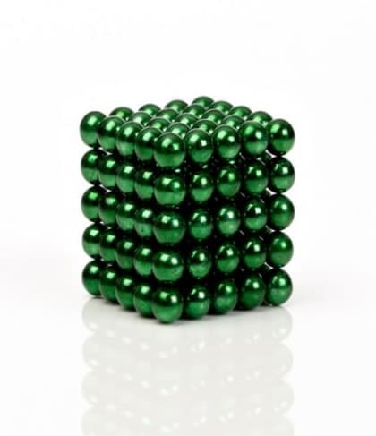Buckyballs Chromatics 216 Green Balls