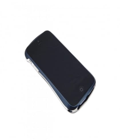 Draco 5 Deff Cleave Japan Aluminum Bumper for iPhone 5 (Midnight Blue)