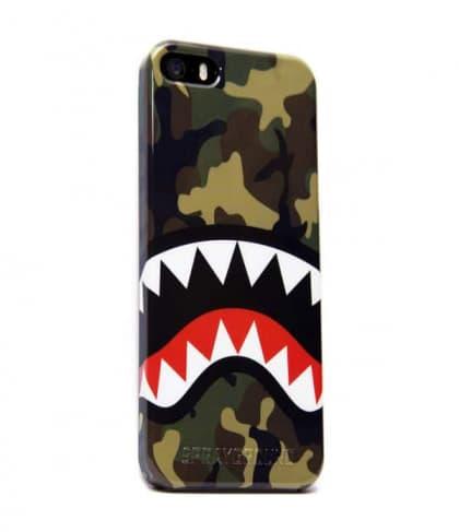 Sprayground Camo Shark iPhone 5 5s 5c Case