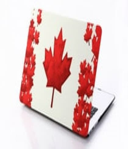 MacBook Pro Skin Shell Full Body Case for MacBook Air Pro Retina 11 13 15 All Models Canada Flag