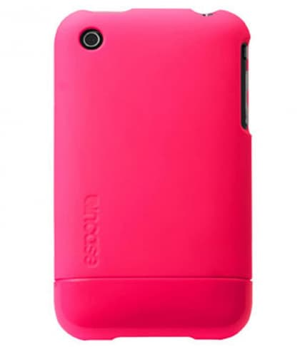InCase Fluro Pink Fluorescent Slider Cover Case for iPhone 3G 3GS