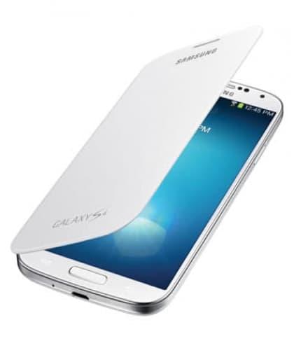 Samsung Galaxy S4 White Flip Cover