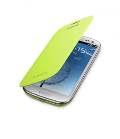 Samsung Galaxy S3 S III Flip Cover - Green