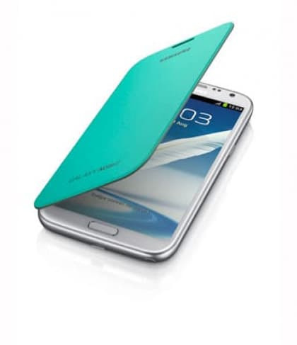Samsung Galaxy Note II Flip Cover Mint