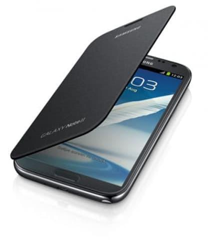 Samsung Galaxy Note II Flip Cover Titanium Grey Gray