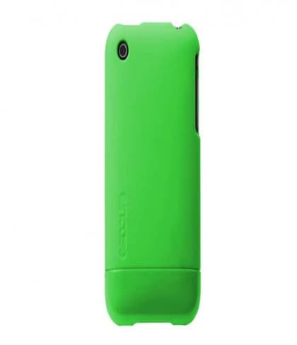 InCase Fluro Green Fluorescent Slider Cover Case for iPhone 3G 3GS