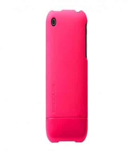 Incase CL59143B Pink Fluro Slider Case for iPhone 3GS