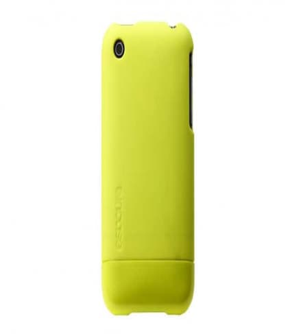 InCase Fluro Yellow Fluorescent Slider Cover Case for iPhone 3G 3GS