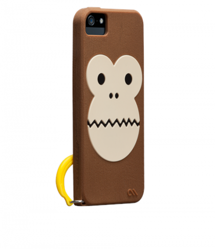 Case Mate Bubbles Silicone Monkey Case for iPhone 5