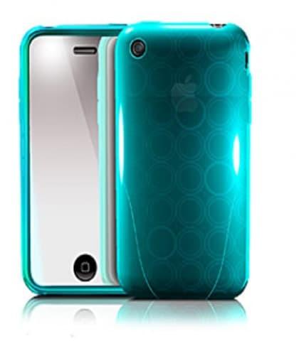 iSkin Solo FX Breeze Blue Case iPhone 3G 3GS
